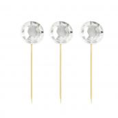 Diamant décoration gâteaux - Lot de 16