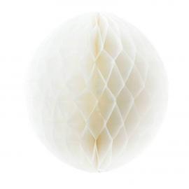 Grande boule papier blanc - 45 cm