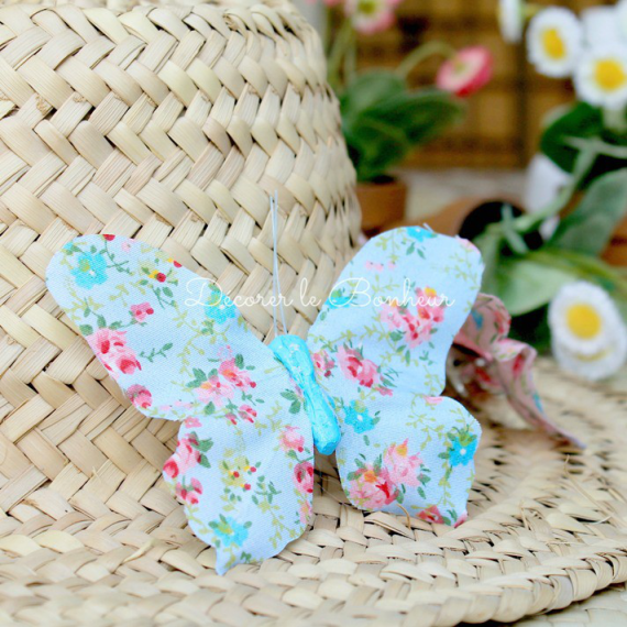 Papillon clip summer liberty blue