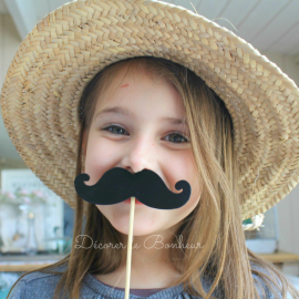Moustaches party - Set de 4 assorties