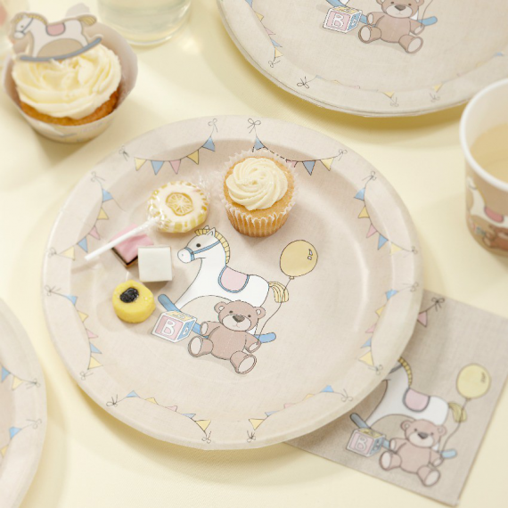 Assiettes baby nursery