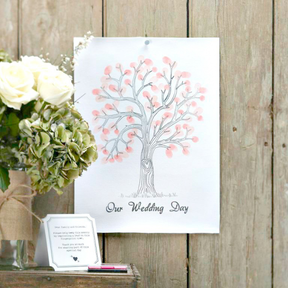 Kit empreintes Love tree