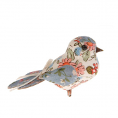 Oiseaux clip liberty joli cream - Set de 2