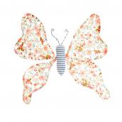 Grand papillon clip love liberty cream