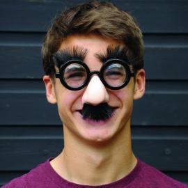 Funny masque kit photobooth