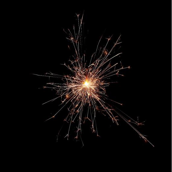 Cierge étincelant magique - Boite de 10