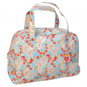 Sac de week end toile florale