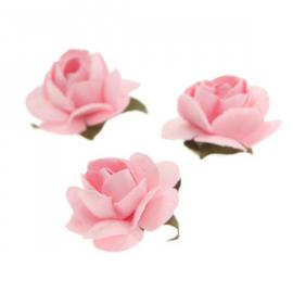 Fleurettes roses - Lot de 40