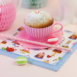 Serviettes papier happy cakes - Lot de 20