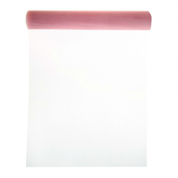 Chemin de table tulle rose - 5 mètres