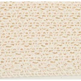 Ruban dentelle de coton beige