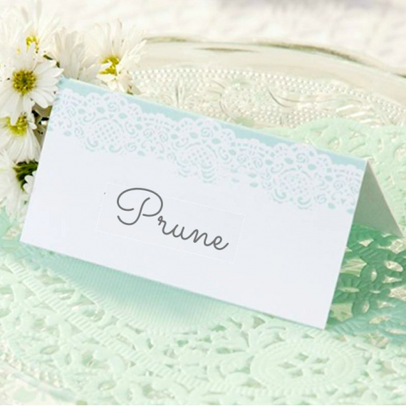 Decoration de table marque place dentelle mint for Marque deco maison