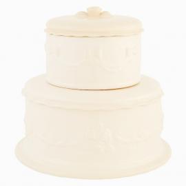 Boite porcelaine gâteau de cérémonie