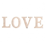 Lettres Love patine shabby chic