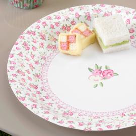 Assiettes lovely fleurettes