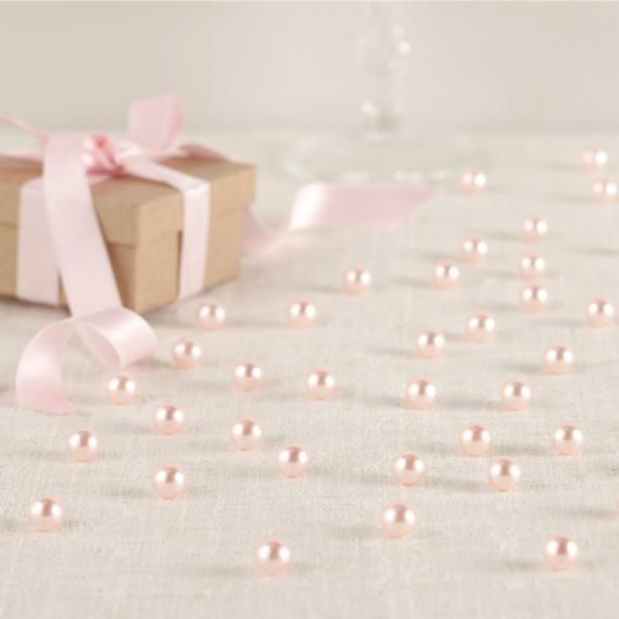 Perles roses - Boite de 134