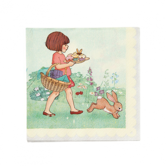 Serviettes papier Belle & rabbit - Lot de 20