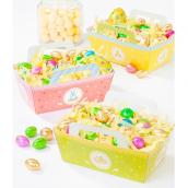 Paniers pastel de Pâques - Lot de 3