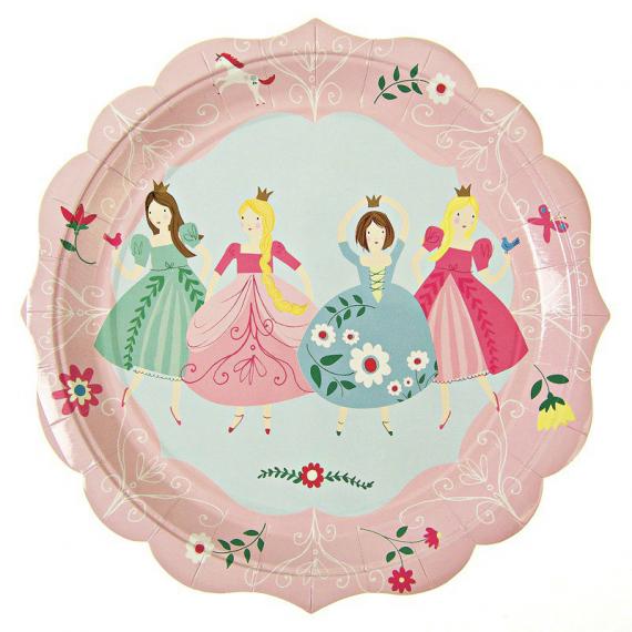 Assiettes le bal des princesses