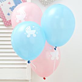 Ballons mix pastel Baby