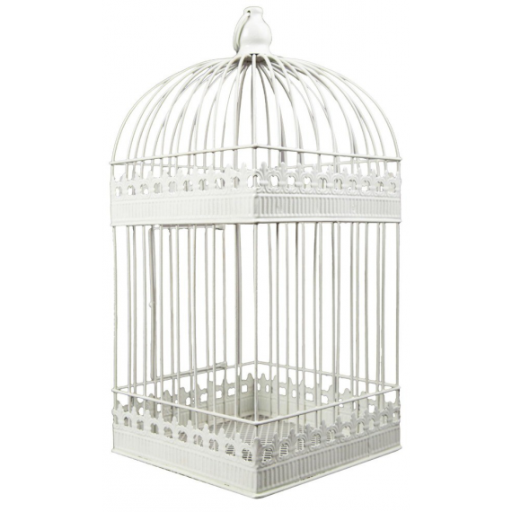 Urne cage shabby chic