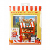 Stand rétro popcorn & hot dog