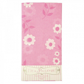 Nappe papier happy flower rose