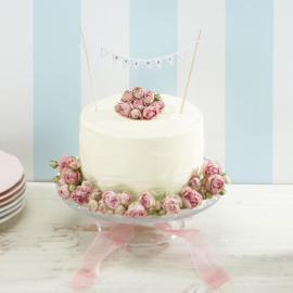 Décoration gâteau de mariage Mr & Mrs