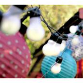 decoration de salle guirlande lumineuse jolie guinguette. Black Bedroom Furniture Sets. Home Design Ideas