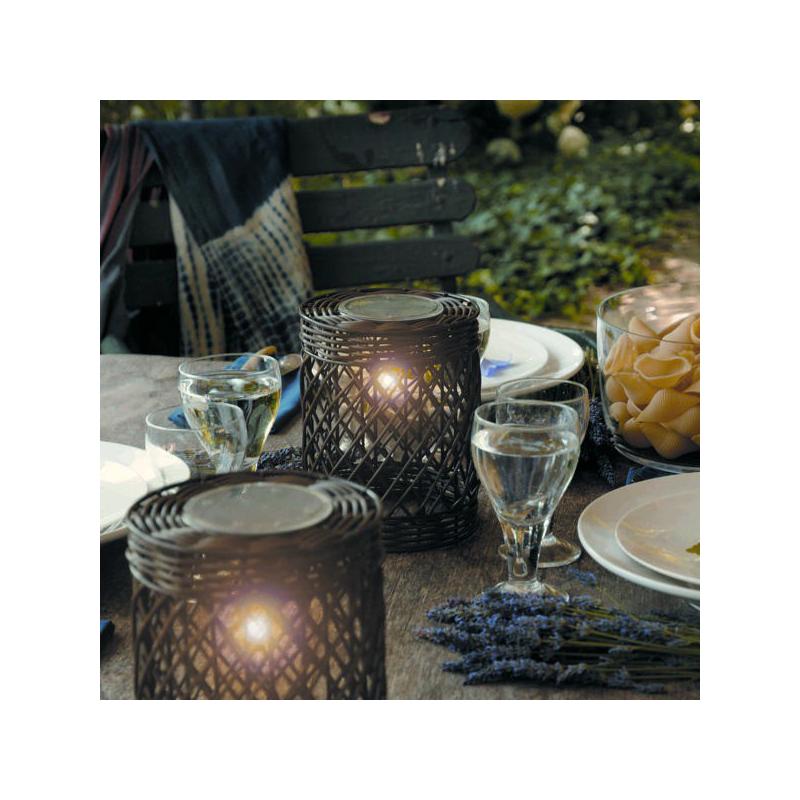 Decoration de table lanterne solaire jardin for Deco jardin solaire
