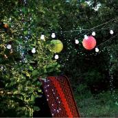 Guirlande solaire LED féerie - 10 mètres