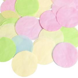 Pluie de grands confettis multi - tube de 70g