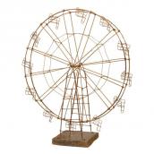 Grande roue fil de fer patiné