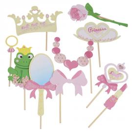 Kit photobooth jolie princesse