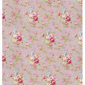 Rouleau papier cadeau vintage floral lilac