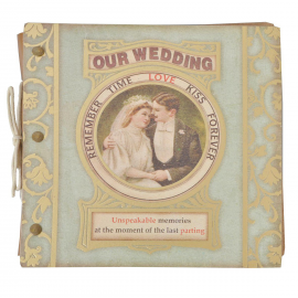 Album photo mariage chic rétro