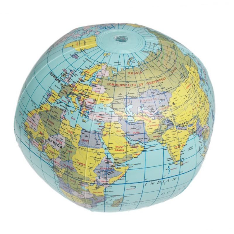 Cadeau enfants globe terrestre gonflable - Globe terrestre pour enfant ...