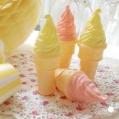 Bulles de savon Ice cream - Lot de 10 assortis