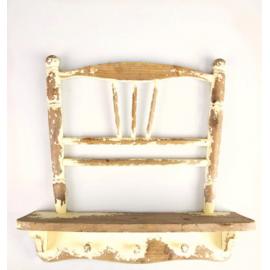 Etagère chaise vintage cream