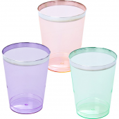 Verres plastique colors ultra chic - Lot de 6