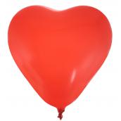Ballons coeur rouge - Lot de 8