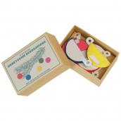 Boules de noël papier color