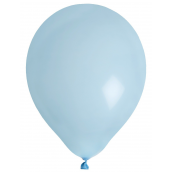 Ballons unis bleu ciel