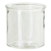 Vase verre droit
