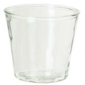 Vase verre évasé