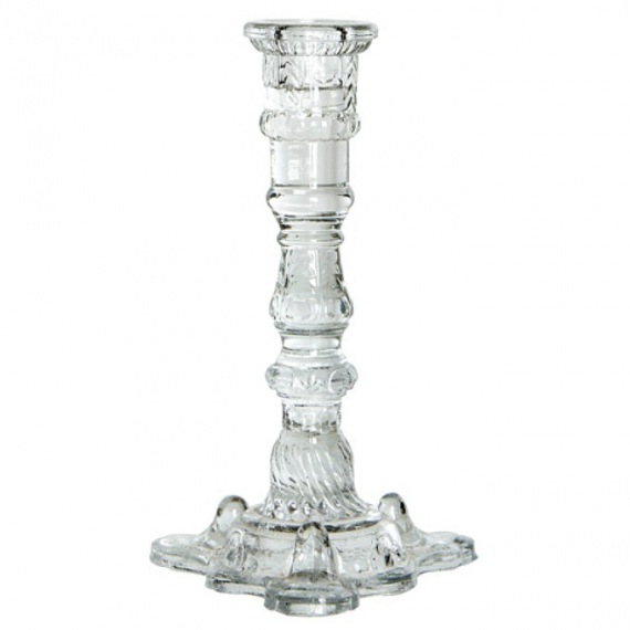 Bougeoir verre transparent Gala