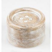 Boite bois vintage bouton