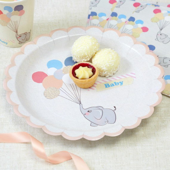 Assiettes baby Dumbo