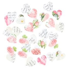 Confettis romantiques jolis coeurs - Lot 100