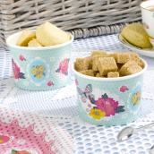 Bols ice cream flower springtime - Lot de 8